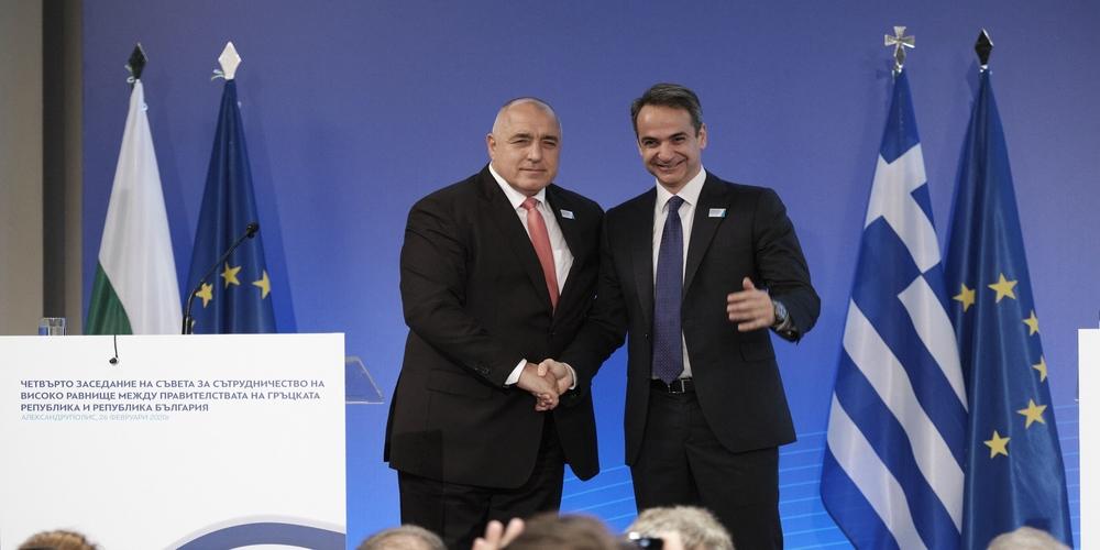 Αλεξανδρούπολη: Συμφωνία σιδηροδρομικής σύνδεσης Αλεξανδρούπολης-Μπουργκάς-Βάρνας, οδικής Αλεξανδρούπολης-Ντιμίτροβγκραντ και τουριστικής συνεργασίας