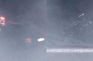 Τροχαίο ατύχημα: Η παράκαμψη Προβατώνα αργεί, αλλά… τρακαρίσματα σ' αυτήν γίνονται, όπως χθες βράδυ