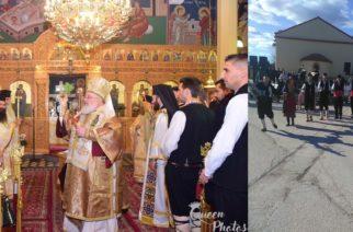 Τον Άγιο Τρύφωνα γιόρτασαν στα Δίκαια Τριγώνου (ΒΙΝΤΕΟ+φωτό)