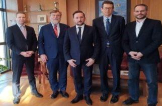 Τις προοπτικές ανάπτυξης της Αλεξανδρούπολης συζήτησαν ο δήμαρχος Γ.Ζαμπούκης και Αμερικανοί οικονομικοί παράγοντες