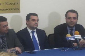 """Σκρέκας από Αλεξανδρούπολη: """"Στήριξη στους νέους αγρότες και τις ακριτικές περιοχές"""""""