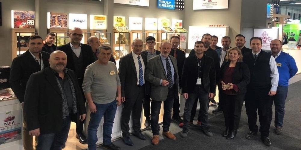 Δυναμική παρουσία τηςΠεριφέρειας ΑΜΘ στην Διεθνή έκθεση«FRUIT LOGISTICA 2020» στη Γερμανία