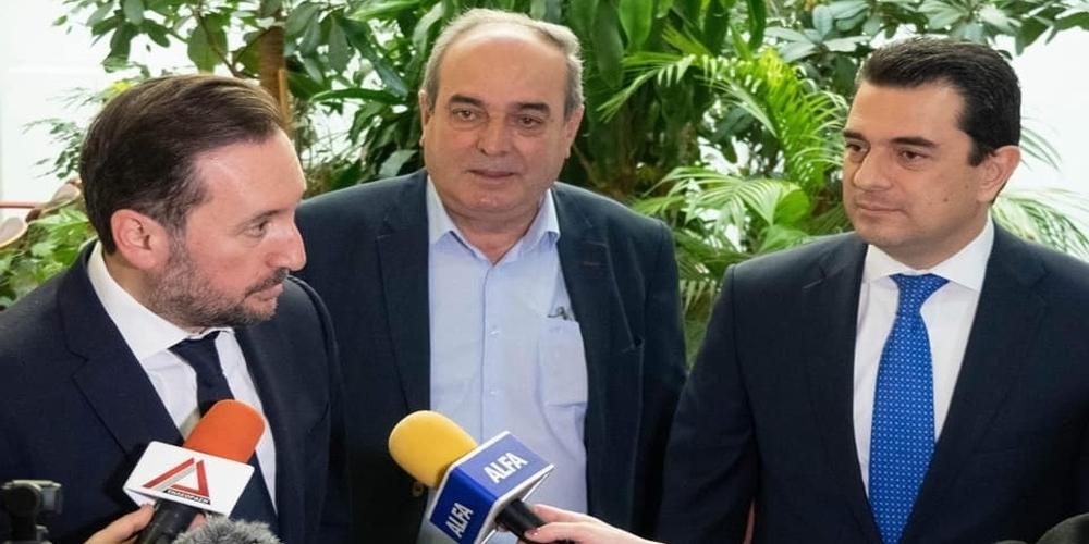 """Κολγιώνης: «Στέλνω άμεσα την μελέτη αρδευτικού Πετάλου Πέπλου στον υφυπουργό κύριο Σκρέκα"""""""