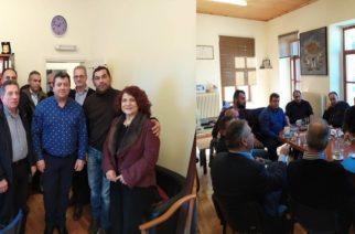 Σαμοθράκη: Συνάντηση του δημάρχου Νίκου Γαλατούμου με εκπροσώπους της Zante Ferries