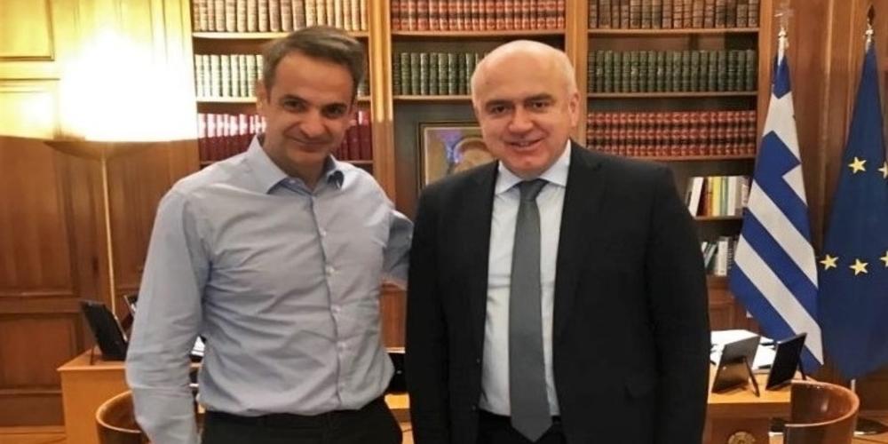 Τετ-α-τετ του Πρωθυπουργού με τον Περιφερειάρχη ΑΜ-Θ Χρήστο Μέτιο στο Μέγαρο Μαξίμου – Τι συζήτησαν