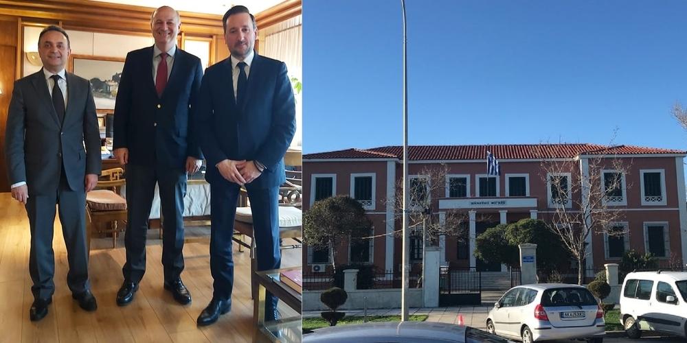 """""""Ναι"""" του Υπουργού Δικαιοσύνης στον Γιάννη Ζαμπούκη για νέο Δικαστικό Μέγαρο στην Αλεξανδρούπολη"""