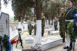 Αλεξανδρούπολη: Μνημόσυνο υπέρ των ηρωικώς πεσόντων απ' την 12η Μεραρχία στο Στρατιωτικό Νεκροταφείο