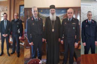 Αλεξανδρούπολη: Συναντήσεις με Αντιπεριφερειάρχη Έβρου, δήμαρχο και Μητροπολίτη είχε ο Περιφερειακός Αστυνομικός Διευθυντής ΑΜ-Θ Π.Συριτούδης