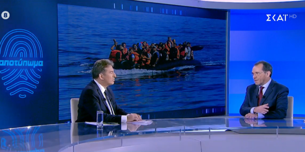 """Χρυσοχοίδης για ροές λαθρομεταναστών: """"Τώρα ο Έβρος είναι σχεδόν απόρθητος, γιατί πήραμε μέτρα""""!!!"""