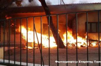 Αλεξανδρούπολη: Φωτιά στην περιοχή του Σιδηροδρομικού Σταθμού -Άμεση επέμβαση της Πυροσβεστικής