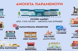 Κορονοϊός: Η λίστα με όλα τα καταστήματα που θα είναι κλειστά από σήμερα Τετάρτη