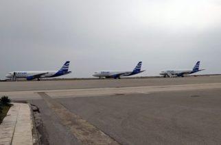 """Αλεξανδρούπολη: Με τρία αεροπλάνα ήρθε η """"Ellinair"""" του ομίλου Μουζενίδη στο αεροδρόμιο """"Δημόκριτος"""""""