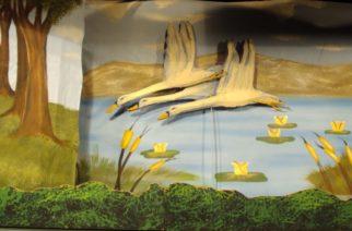 Σουφλί: Η παράσταση κουκλοθέατρου«Το ασχημόπαπο»  στο Μουσείο Μετάξης