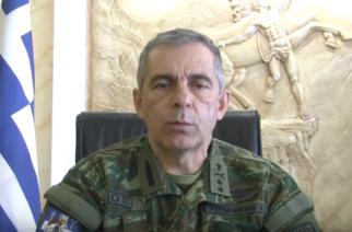 ΒΙΝΤΕΟ: Μηνύματα απερχόμενου Διοικητή 12ης Μεραρχίας Υποστρατήγου Α.Χουδελούδη σε στρατιωτικό προσωπικό και τοπικούς φορείς