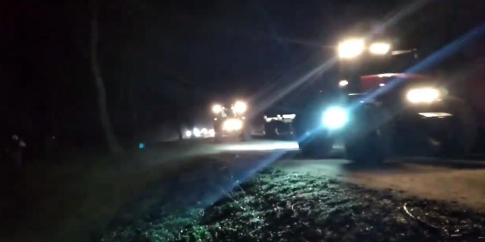 Αγρότες και καλυβιέρηδες στις επάλξεις χθες βράδυ σε Φέρες, Δέλτα Έβρου, απέτρεψαν τους λαθρομετανάστες (ΒΙΝΤΕΟ)