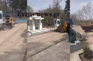 Καστανιές: Επιχείρηση-καθαρισμός από συνεργεία της Περιφέρειας ΑΜ-Θ – Χιλιάδες κουτιά δακρυγόνων που πετούσαν οι Τούρκοι