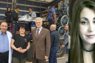 Παραδόθηκαν 13 τόνοι ιατροτεχνικού εξοπλισμού απ' τη Σουηδία στο Νοσοκομείο Διδυμοτέιχου, στη μνήμη Ελένης Τοπαλούδη