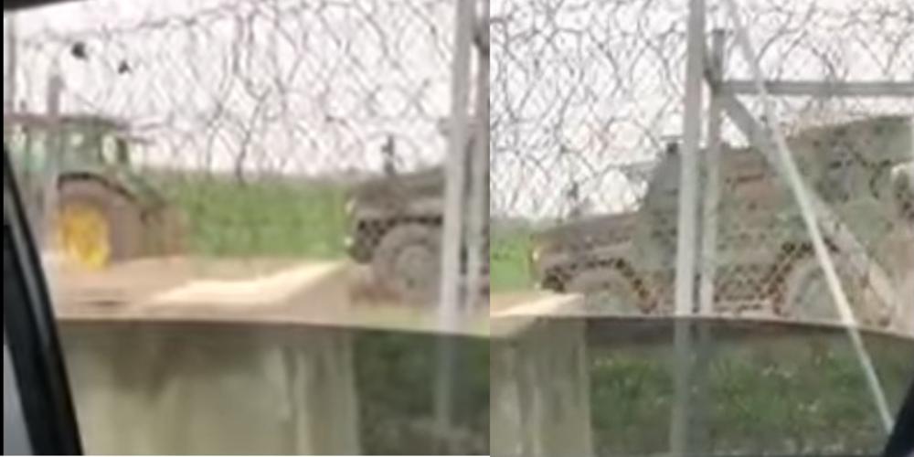 Καστανιές: Τουρκικό θωρακισμένο όχημα… κόλλησε στην λάσπη και το τραβούσαν με τρακτέρ!!! (ΒΙΝΤΕΟ)