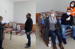 Αλεξανδρούπολη: Ο δήμος μοίρασε ξηρά τροφή σε εθελοντές φιλόζωους για τα αδέσποτα σκυλιά