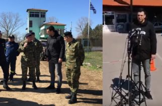 "BINTEO-Κικίλιας από Καστανιές: ""Η χώρα αντιμετωπίζει δύο μέτωπα. Εδώ στα σύνορα και την πανδημία"""
