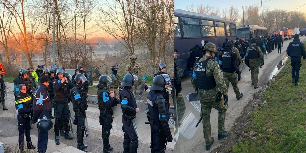 Καστανιές: Οι δυνάμεις της FRONTEX ανέλαβαν ήδη δράση (ΒΙΝΤΕΟ+φωτό)