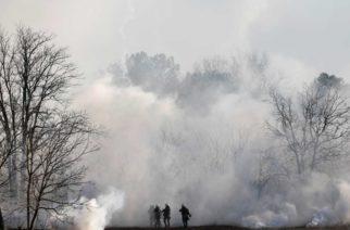 Νέα επεισόδια το πρωί στις Καστανιές – Κόλαση δακρυγόνων απ' τους… Τούρκους (ΒΙΝΤΕΟ)