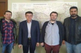 Συνάντηση κλιμακίου του ΚΚΕ με τον Aντιπεριφερειάρχη Έβρου Δημήτρη Πέτροβιτς για ελληνοτουρκικά σύνορα, κορονοϊό