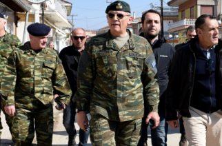 Παναγιωτόπουλος: Ο καταυλισμός στα ελληνοτουρκικά σύνορα διαλύθηκε, αλλά δεν εφησυχάζουμε . Ο συναγερμός παραμένει