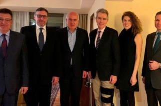 Συνάντηση του Περιφερειάρχη Χρήστου Μέτιου με τον βοηθό Υπουργό Εξωτερικών των ΗΠΑ Μάθιου Πάλμερ