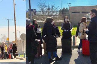 Άλλοι 49 Έλληνες φοιτητές έφτασαν στους Κήπους από Τουρκία – Καραντίνα, αλλά και έντονη ανησυχία