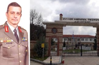 Ο Υποστράτηγος Ιωάννης Βασιλάκης, νέος Διοικητής της 16ης Μεραρχίας Διδυμοτείχου
