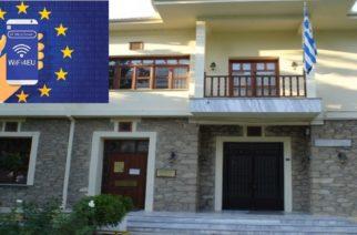 Ορεστιάδα: Ανάθεση σε εταιρεία για τοποθέτηση WiFi στα χωριά του δήμου, υπέγραψε ο δήμαρχος Β.Μαυρίδης