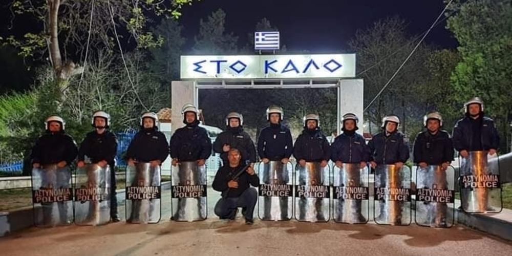 Καστανιές: Ανάσταση στην πρώτη γραμμή… φυλώντας Θερμοπύλες έκαναν οι αστυνομικοί