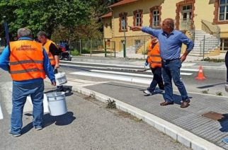 Αλεξανδρούπολη: Ξεκίνησε η ανακατασκευή του οδοστρώματος της Ιωακείμ Καβύρη, γίνονται και διαγραμμίσεις