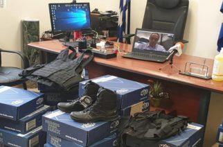 Δωρεά υλικού στην Αστυνομική Διεύθυνση Ορεστιάδας από την Κεντρική Ένωση Επιμελητηρίων Ελλάδος