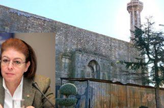 Διδυμότειχο: Τι λέει η υπουργός Πολιτισμού Λίνα Μενδώνη για τις εργασίες στο τέμενος Βαγιαζήτ