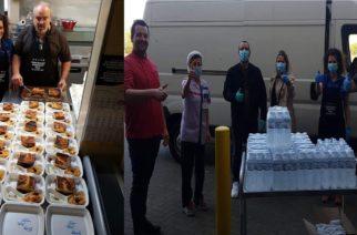 Βέλγιο: Ο Εβρίτης εστιάτορας που προσφέρει ζεστό φαγητό σε γιατρούς, νοσηλευτές Νοσοκομείου για τον κορονοϊό