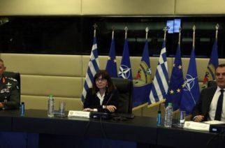 Στις Καστανιές ανήμερα του Πάσχα, το πρώτο ταξίδι της Προέδρου Δημοκρατίας Κατερίνας Σακελλαροπούλου
