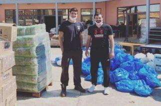 Αθλητές και προπονητές του Εθνικού Αλεξανδρούπολης, εθελοντές στη διανομή τροφίμων σε ευπαθείς ομάδες