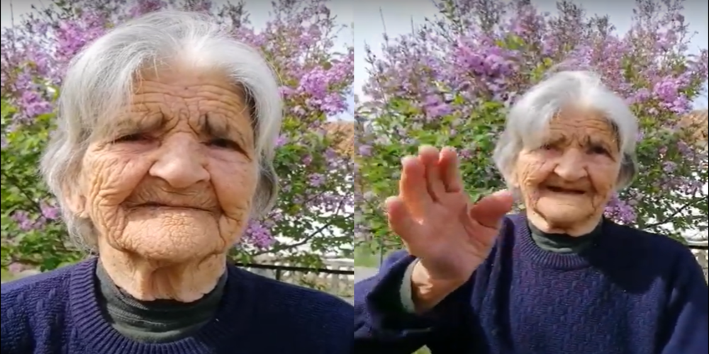 """Video: Γενέθλια σήμερα στο Ορμένιο για ηλικιωμένη, που """"έκλεισε"""" τα 100 χρόνια"""