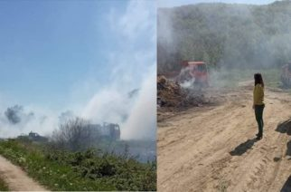 Άμεση συνδρομή του δήμου Αλεξανδρούπολης, σε τρεις πυρκαγιές που ξέσπασαν στην περιοχή