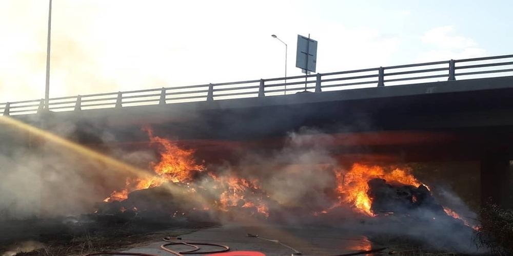 Εγνατία Οδός: Συνεχίζονται ως τα τέλη Αυγούστου οι εργασίες αποκατάστασης της καμμένης γέφυρας Μάνθειας