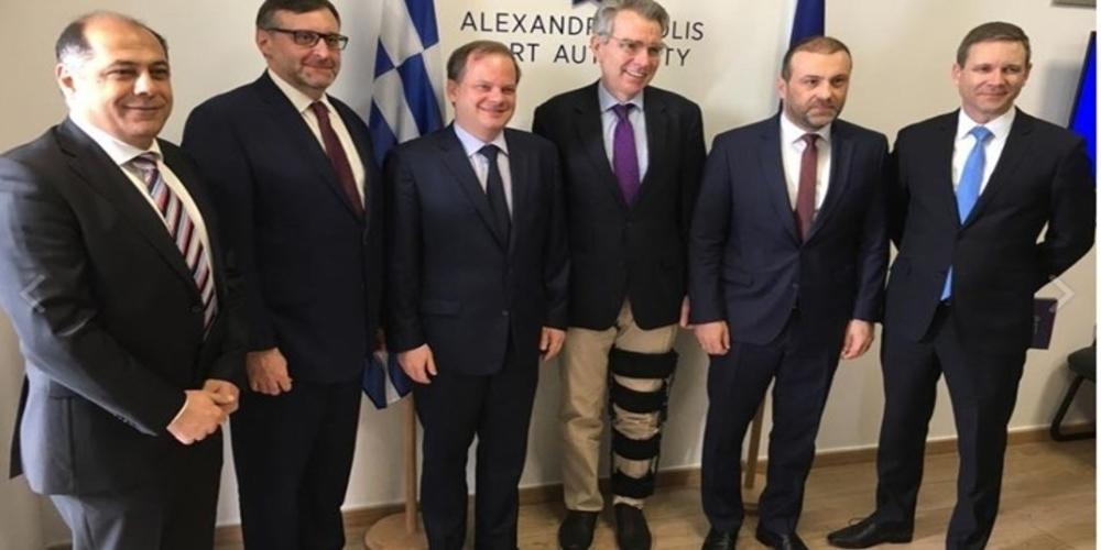 Πάιατ: Στηρίζουμε τις επενδύσεις στο λιμάνι και τον σταθμό LNG της Αλεξανδρούπολης