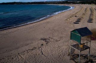 Ο κορωνοϊός δεν επιβιώνει στην άμμο της παραλίας