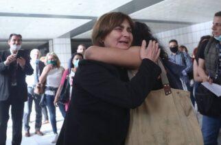 Μητέρα Ελένης Τοπαλούδη: Η απόφαση δεν με ικανοποιεί. Όταν λέμε ισόβια να είναι ισόβια(BINTEO)