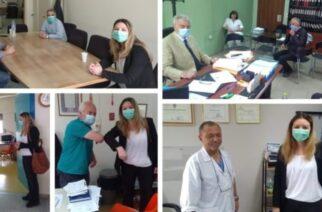 Συγχαρητήρια Γκαρά για την αντιμετώπιση της κρίσης του κορονοϊού απ' τα Νοσοκομεία του Έβρου