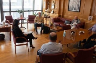 Αλεξανδρούπολη: Συνάντηση του δημάρχου Γιάννη Ζαμπούκη, με εκπροσώπους του αγωγού TAP. Τα έργα αποκατάστασης