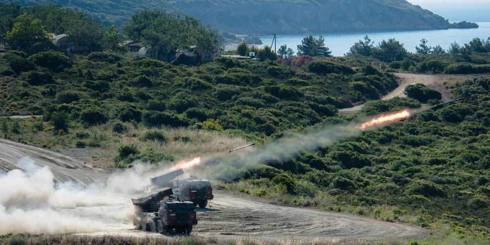 Αλεξανδρούπολη: Τετραήμερη καταιγίδα πυρός από την 12η Μεραρχία στην θαλάσσια περιοχή Πετρωτών