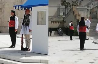 ΒΙΝΤΕΟ: Η θρακιώτικη φορεσιά σήμερα στο Μνημείο Άγνωστου Στρατιώτη απ' την Προεδρική Φρουρά