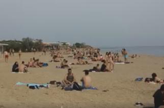 Οι Εβρίτες αναζήτησαν δροσιά στις παραλίες της περιοχής